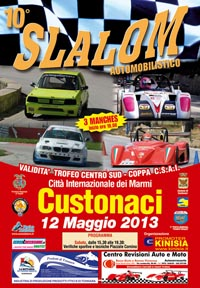 Slalom Custonaci 2013 – Cronaca e Classifiche